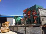 Machine automatique de pierre de bord de bloc de machine à paver de brique de ciment hydraulique (QT5-15)