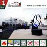 Причудливый ясный шатер венчания крыши в Hong Kong