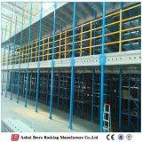 Almacén de la estructura de acero del diseño de la construcción, almacenaje Mezzanin de China de las herramientas de jardín del estante