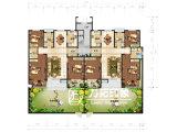 外国の別荘の家のタイプレイアウトデザイン