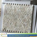 Миниая мозаика мрамора кирпича, дешевый мрамор плитки для домочадца