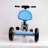 3人の車輪の子供Trikeは三輪車をからかう