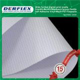 Materiales al aire libre brillantes de la impresión del precio bajo que hacen publicidad de la bandera de la flexión puesta a contraluz