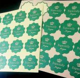 Packpapier-verpackenkennsätze Brown-(ST-006)