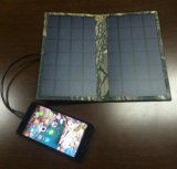 Cargador solar original 5W 5V/1000mA de la batería de la potencia del teléfono móvil de la fábrica