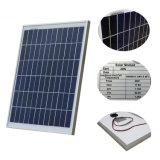 poly panneau solaire de 12V 20W pour le système de d'éclairage solaire