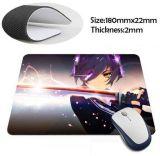Pista de ratón modificada para requisitos particulares del Anime para el estudiante de la High School secundaria