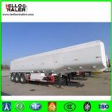 De Semi Aanhangwagen van de Tanker van het Water van het Koolstofstaal, de Aanhangwagen van de Tank van de Brandstof, Vloeibare Chemische Semi Aanhangwagen