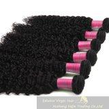 pacotes naturais humanos Kinky do cabelo de 7A Culry