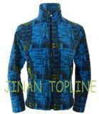 Длинная куртка с принтом Microfleece Blue Jacket