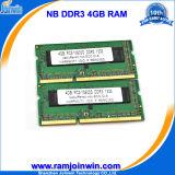 Zurückhaltung 4GB DDR3 1333MHz Cl9 So-DIMM RAM Memory