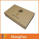 Caisse de papier pliable rabattable magnétique d'usine avec ruban