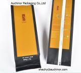 Kaffee-Beutel der Aluminiumfolie-250g mit Ventil/schwarzem Kaffeebohne-Beutel mit Ventil