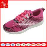 Chaussures Lace-up de sports de femmes de confort avec l'impression