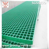 Grating Phenolic moldado de FRP/GRP e de Pultruded