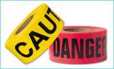 عائق شريط مع خطر أمان شريط