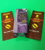 Kraft Paper Plastic Zipper Packaging Sacs pour thé / café