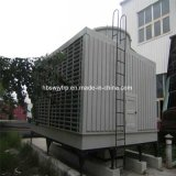 Pilone quadrato economizzatore d'energia di raffreddamento ad acqua di flusso trasversale di figura