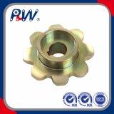 Roda dentada industrial padrão do chapeamento de cobre do RUÍDO (8T)