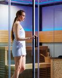Stanza asciutta domestica tradizionale di sauna del vapore di stile della Finlandia (M-6054)