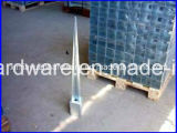 Concrete galvanizzato Screw Ground Anchor, Palo Anchor per Fasten Post