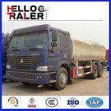 Camion di autocisterna di Sprinker dell'acqua di HOWO 25000L 6X4
