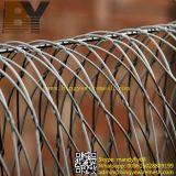 装飾的なステンレス鋼ケーブルの動物園動物階段バルコニーの鳥ワイヤーロープの網