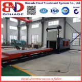 600kw Air Circulation Bogie Hearth Furnaces for Heat Treatment