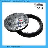 En124 couverture de trou d'homme de la fibre de verre FRP de cercle du composé 70mm
