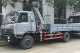 販売のためのXCMGクレーン8tクレーントラックが付いている180HP 5トン6tonの貨物自動車のトラック