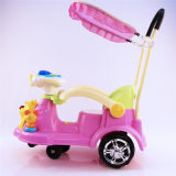 China Factory Kids Ride on Toy Swing Car avec Push Bar Wholesale