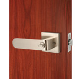 Serratura in lega di zinco della maniglia di leva del portello di dovere di sollevamento con la rosetta quadrata in nichel del raso
