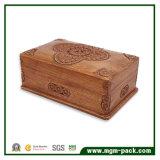 レトロのパッキング彫版が付いている木の収納箱