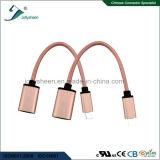Гибкий тип USB OTG C и USB3.0 Af для одного плюс 2 данного по кабеля