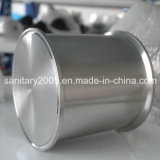 "Seamless Welded Bottom를 가진 6 "" X6 "" Stainless Steel Triclamp Spool"