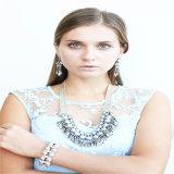 Nouvel article résine acrylique bijoux de mode extensible Bracelets