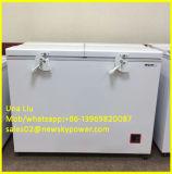 128L, 170L, 233L, 303L, 335L, 384L, congélateur solaire de la Simple-Température 433L