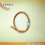 2*0.51mm de kabel van de de compensatiedraad van het Thermokoppel (type K J E T)