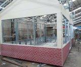 Металл выбил панель PU изолированную пеной для внешней стены коробки Sentry