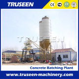 Pequeña planta de procesamiento por lotes por lotes concreta 35m3/H en Italia