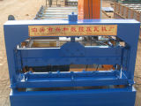 Revêtement en acier de mur de tuile formant la machine