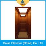 A grande tração de Vvvf da decoração conduz para casa o elevador da casa de campo do passageiro