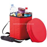 Zusammenklappbarer Kühlvorrichtung-Sitzfaltbarer kalter Sitz