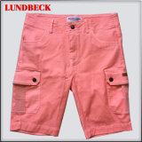 Shorts do algodão dos homens bons do Sell na cor contínua