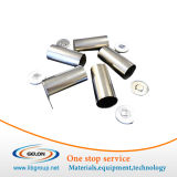 Bidons de batterie d'acier inoxydable pour 18650/26650, etc. avec différentes tailles