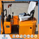 掘る袋詰め作業者が付いている800kg小さいクローラー08小型掘削機