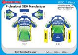 Abkühlender Gewebe-PolyesterSpandex kundenspezifischer Soem-Service, der Jersey komprimiert