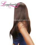 Weave reto do bom cabelo de Remy do Indian do Virgin 100% do feedback