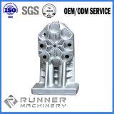 Pièces de usinage de bâti de fer de pièces de rechange de machine de matériel de commande numérique par ordinateur d'OEM