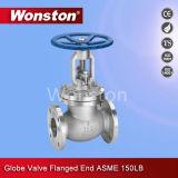Válvula de globo ASME da extremidade da flange 150lbs